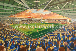 Hand Painted original of halliwell jones